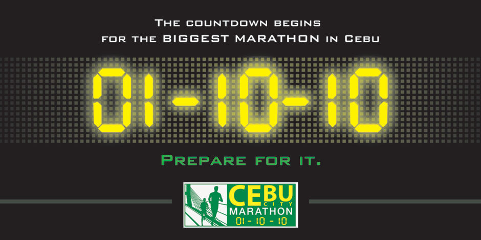 The Cebu City Marathon Experience Top 5!