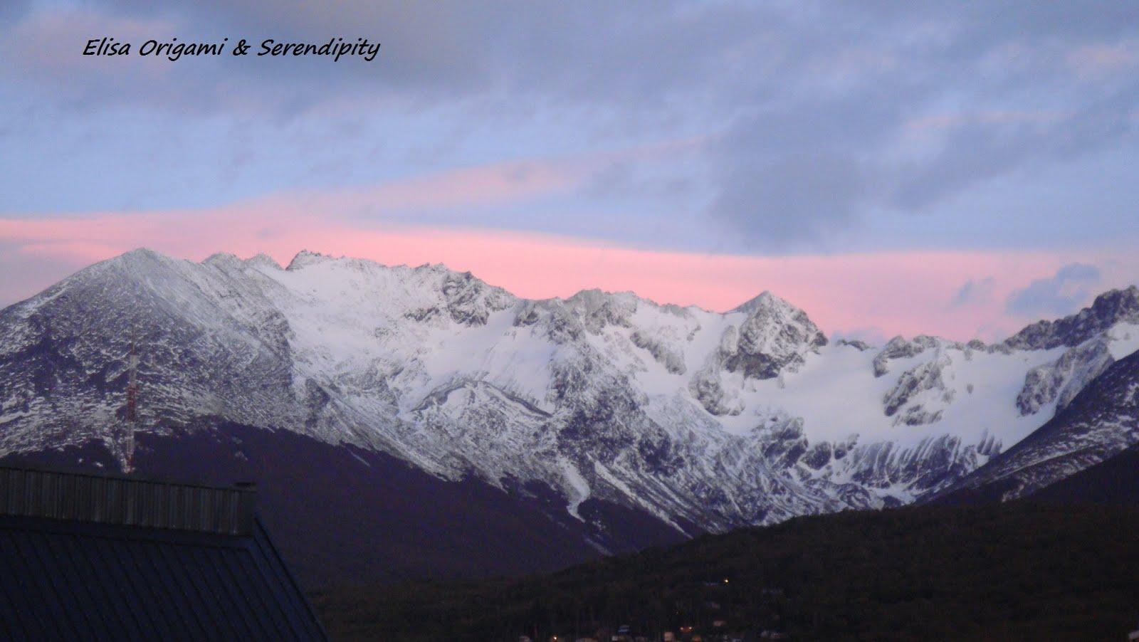 El sol en Ushuaia, Argentina