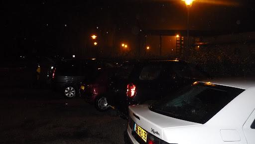 le parking à 6h30