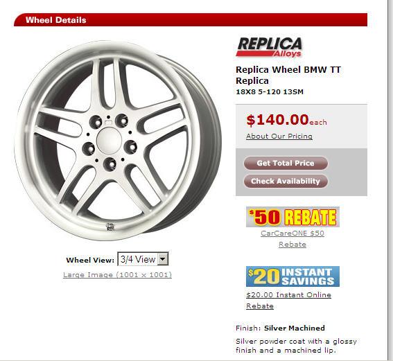 discount tire rims. the Discount Tire website
