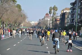 Велокарнавал в Севилье