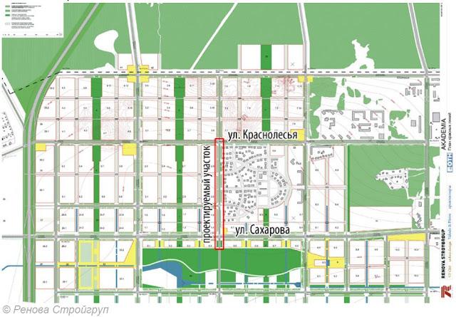 схема велодорожек в Екатеринбурге
