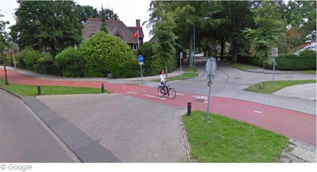 велодорожка в Нидерландах
