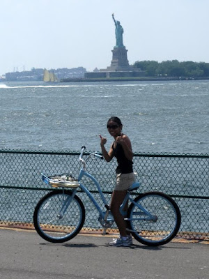 Riding Bikes on Governors Island in New York, NY - Photo Courtesy of Taste As You GO
