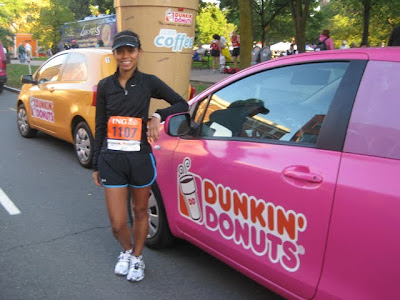 Michelle Runs on Dunkin - Photo Courtesy of Taste As You Go