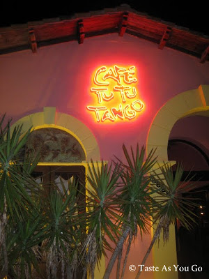 Exterior of Cafe Tu Tu Tango in Orlando, FL - Photo by Taste As You Go