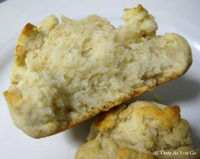 Olive Oil Drop Biscuit | Taste As You Go