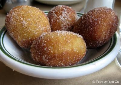 Cinnamon Sugar Doughnuts at DuMont in Brooklyn, NY - Photo by Taste As You Go