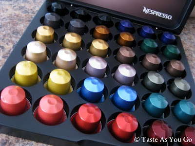 Box of Nespresso CitiZ Capsules - Photo by Taste As You Go
