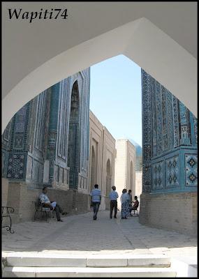 Sur les Routes de la Soie : Ouzbekistan et Tadjikistan - Page 3 52-Samarcande-ShakhiZinda
