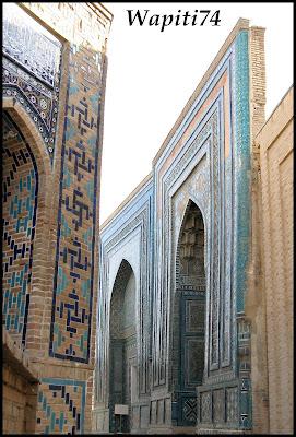 Sur les Routes de la Soie : Ouzbekistan et Tadjikistan - Page 3 68-Tachkent-ShakhiZinda
