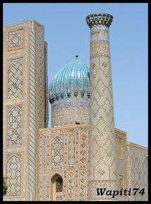 Sur les Routes de la Soie : Ouzbekistan et Tadjikistan - Page 3 146-Samarcande-Reghistan