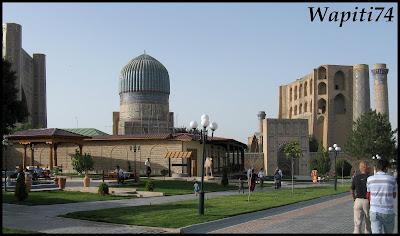 Sur les Routes de la Soie : Ouzbekistan et Tadjikistan - Page 3 157-Samarcande-BibiKahnoum