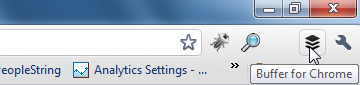 buffer icon chrome Menjadwalkan Tweet Otomatis dengan Buffer