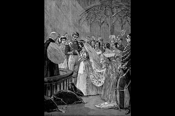 Victoria dan Pangeran Albert,  10 Februari 1840