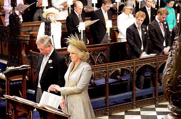 Pangeran Charles dan Camilla  Parker-Bowles, 9 April '05