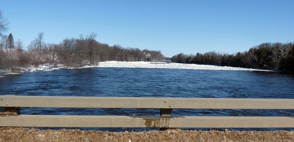 ice at chamberlain corners - grasse river- mar8