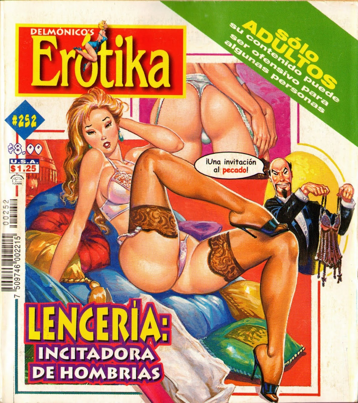 Mexican Adult Comics