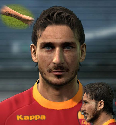 Face Totti by Agiga