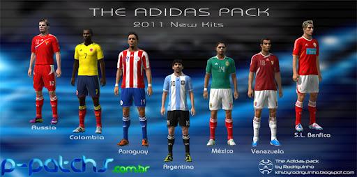 Pack de Uniformes Adidas 2011 para PES 2011 PES 2011 download P-Patchs