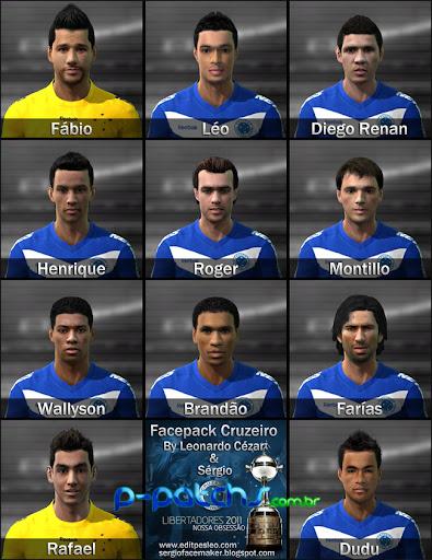 Roberto Carlos Face para PES 2011 PES 2011 download P-Patchs