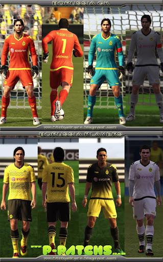 Borussia Dortmund 11-12 Kitset para PES 2011 PES 2011 download P-Patchs