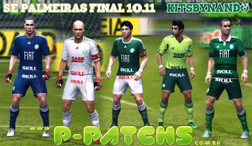 Palmeiras Kitset 11-12 para PES 2011 PES 2011 download P-Patchs