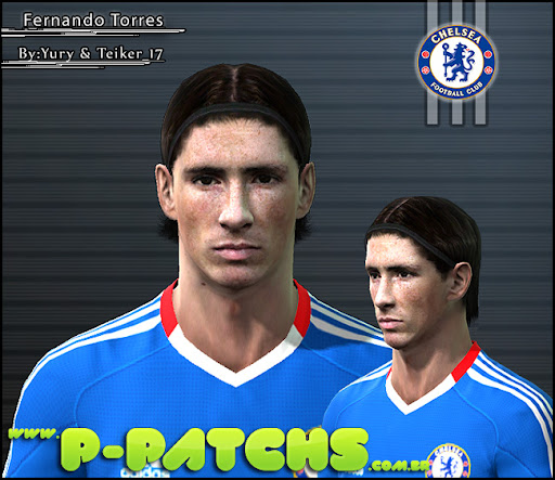 Fernando Torres Face para PES 2011 PES 2011 download P-Patchs