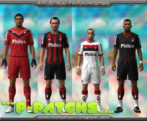 Atlético Paranaense 11-12 Kitset para PES 2011 PES 2011 download P-Patchs