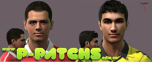 Javier Hernández e Nuri Sahin Faces para PES 2011 PES 2011 download P-Patchs