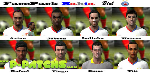Bahia Facepack para PES 2011 PES 2011 download P-Patchs