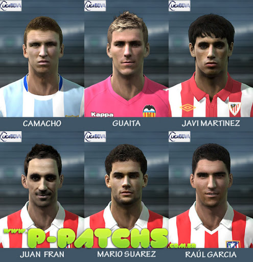 Liga BBVA Facepack para PES 2011 PES 2011 download P-Patchs