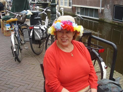 Delft Signora con capello stravagante