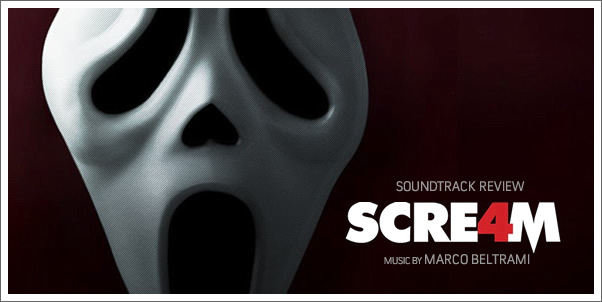 Scream 4 (Soundtrack) by Marco Beltrami - Reviewed