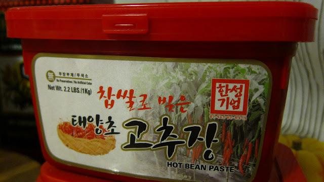 korean hot pepper paste