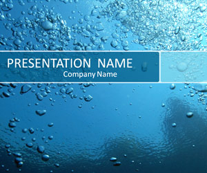 Blue water bubble powerpoint template design background free blue water bubble powerpoint template design background free download toneelgroepblik Gallery