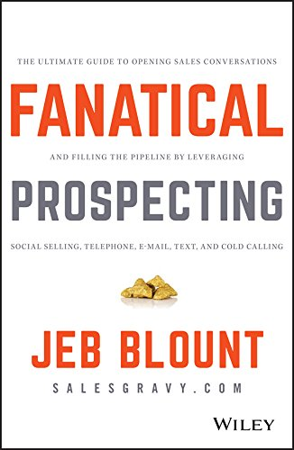 Fanatical Prospecting sales book.