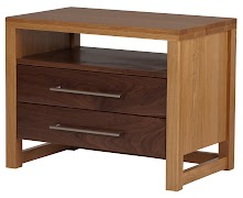 Sumatra Nightstand with Drawers
