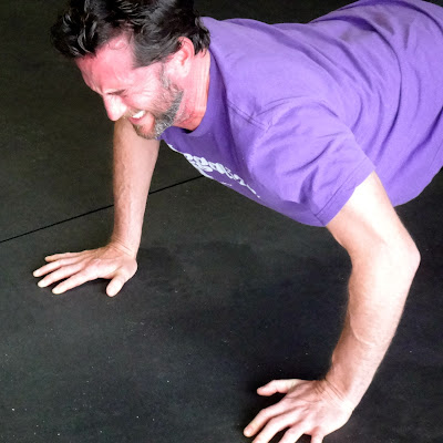 Jason: Push-up pain.