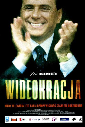 Przód ulotki filmu 'Wideokracja'