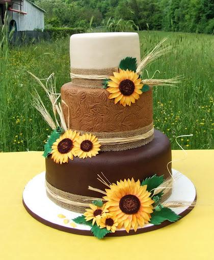 Torta Matrimonio Girasoli : Muccasbronza wedding cake la torta dei girasoli