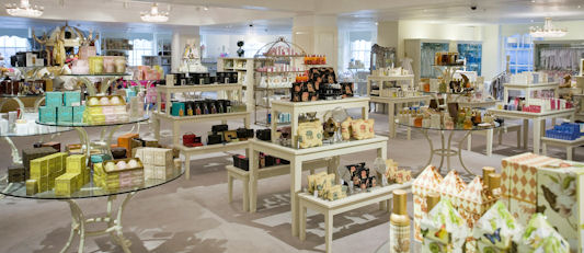Fortnum and Mason's Perfume Section