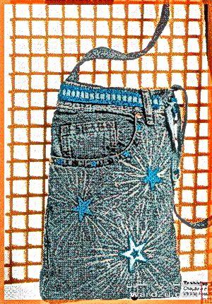 خياطة حقيبتك من الجينز القديم