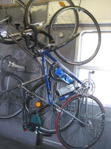 bike on train