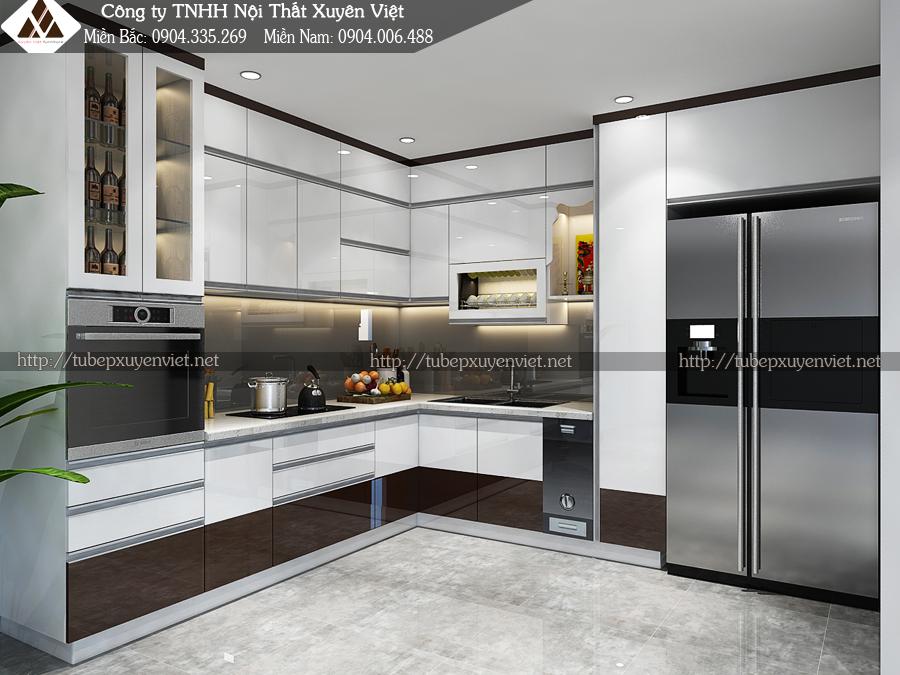Tủ bếp hiện đại là tủ bếp như thế nào hình 1