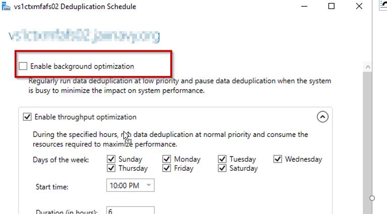 Remove background optimization
