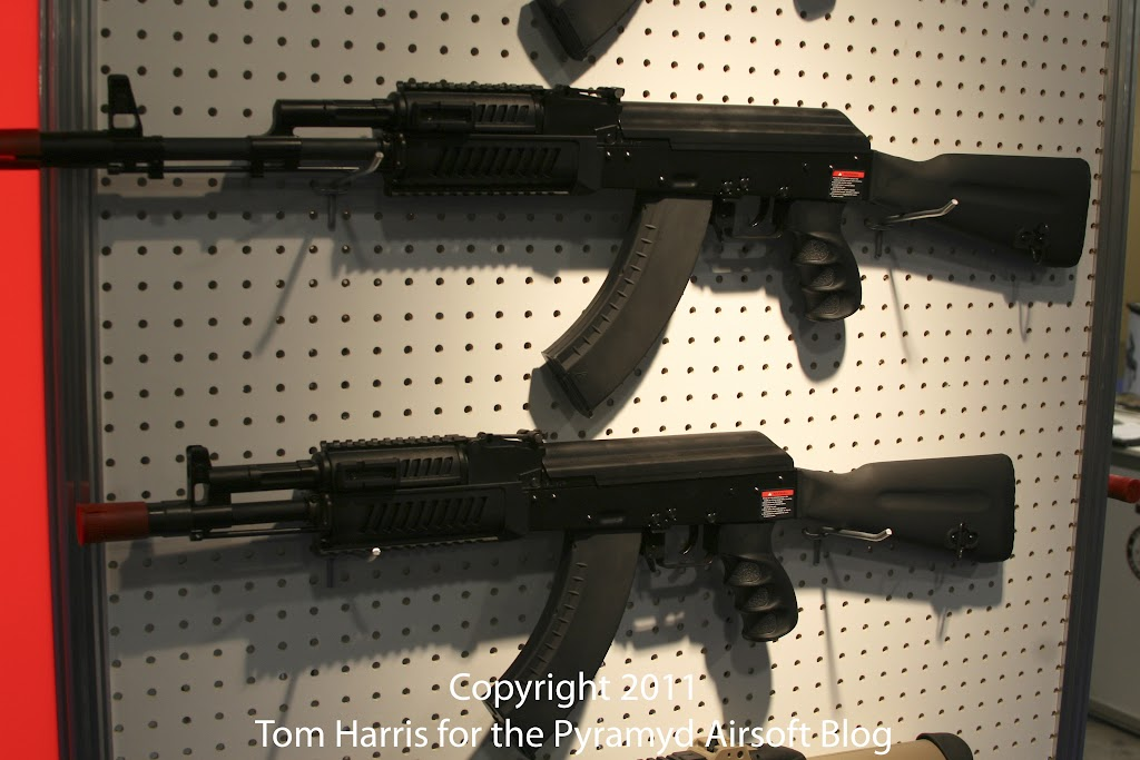 Airsoft Guns, G&G, Guay & Guay, Airsoft Shot Show 2011 News, G&G RK103 EVO AEG, G&G RK104 EVO AEG, G&G AK74, G&G AK47, PolarStar HPA Fusion Engine,Airsoft Automatic Electric Gun, Electric Blowback Rifle, Close Quarter Combat Airsoft Gun, Designated Marksman Rifle, convert airsoft rifle to HPA,Airsoft AEG, Airsoft EBBR, CQB Airsoft Gun, Airsoft DMR, Airsoft HPA rifle,Pyramyd Air, Pyramyd Airsoft Blog, Airsoft Obsessed, Airsoft Blog,