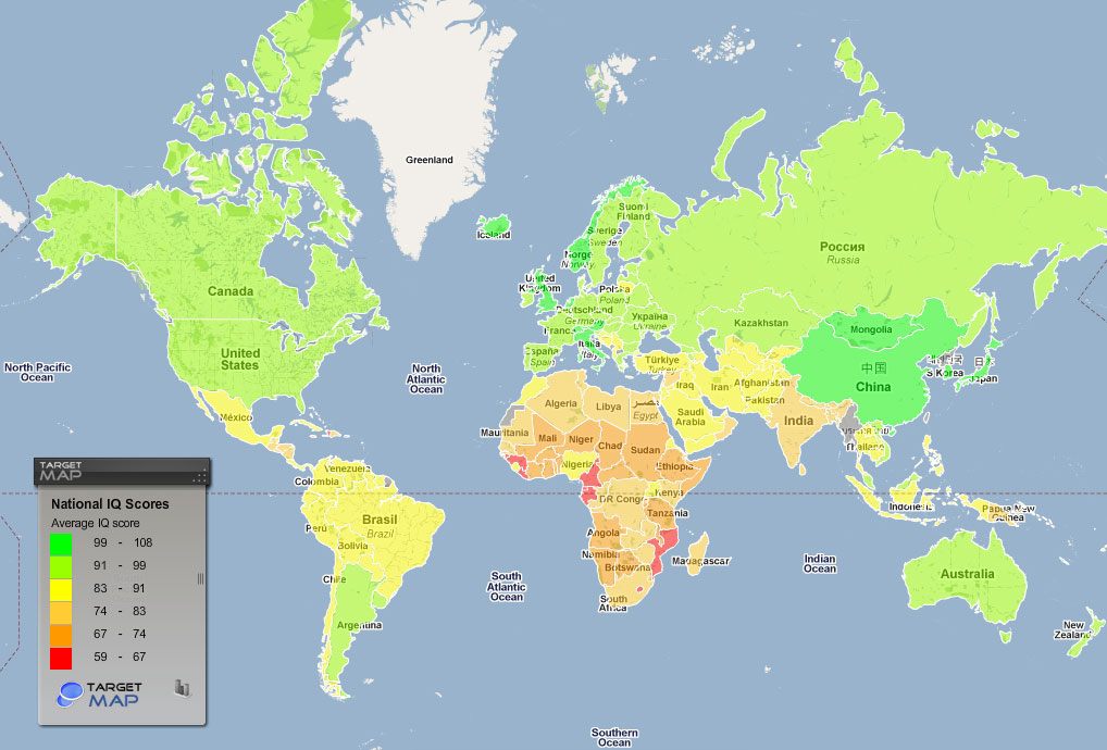 A New World Cup Breast Size Intelligence Happiness Plotted on World Maps