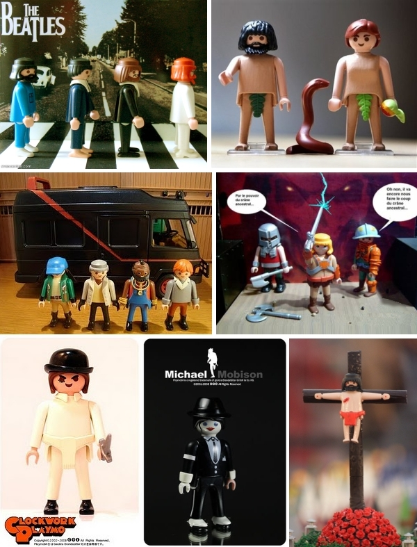Celebrities as Playmobil Dolls
