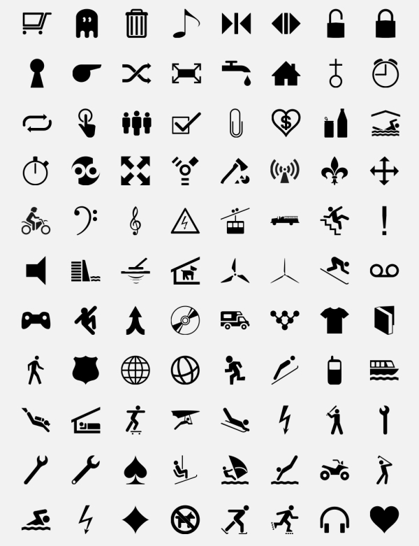 The Best Free Collection of Symbols